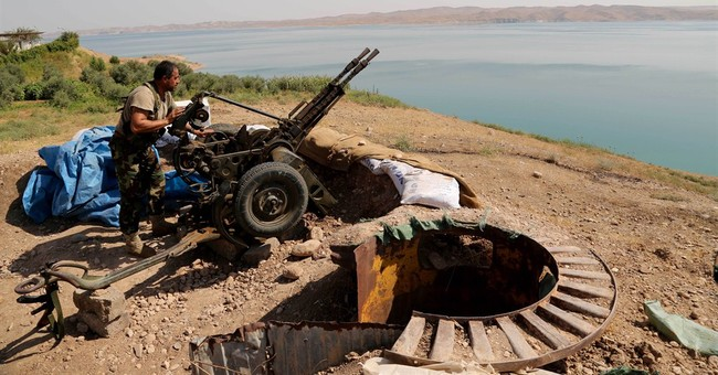 Kurdish forces retake parts of Iraq's largest dam