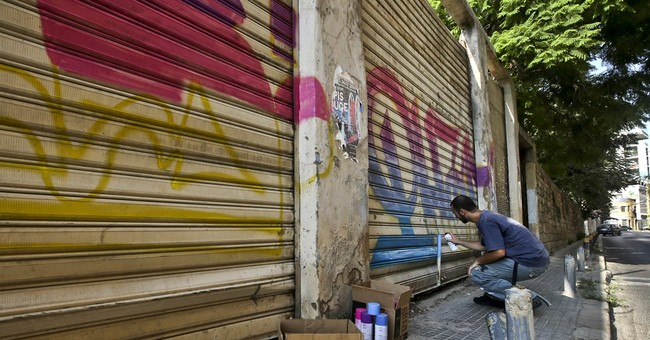 Hip hop, graffiti in Lebanon tag a nation's woes