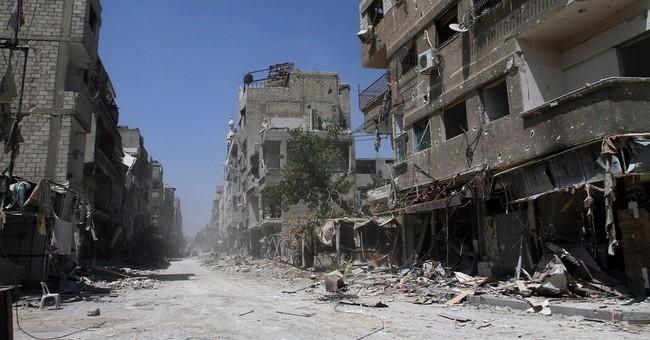 Syrian airstrikes target Islamic State group