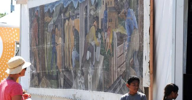 Mural collecting dust is William Cumming original
