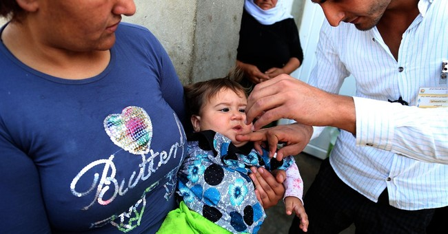 UN undertakes polio vaccination campaign in Iraq