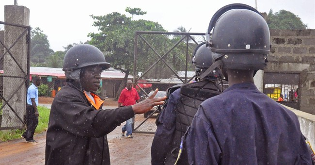 Growing unrest sets back Liberia's Ebola fight
