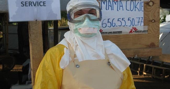 Liberia president declares Ebola curfew