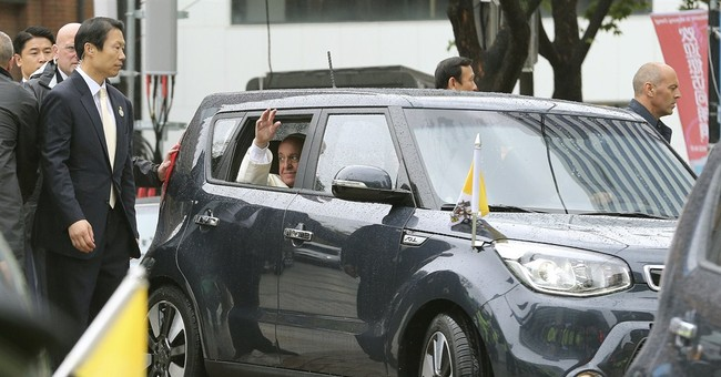 AP Analysis: Pope gets crash course on Korea issue