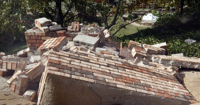 Less shake from artificial quakes, fed study says