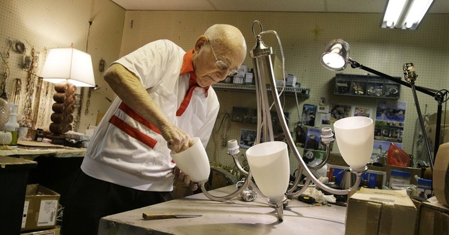 His 101st birthday present? Another day at work