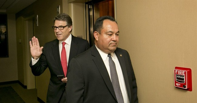 Defiant Texas Gov. Perry coming to New Hampshire