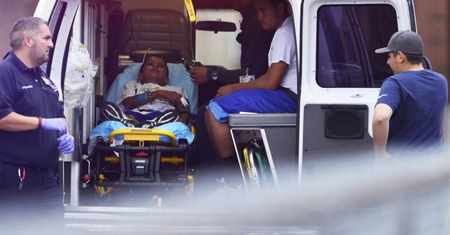Teenager struck by lightning breathing on his own