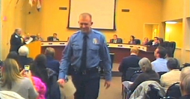 Picture emerges of officer in Ferguson shooting