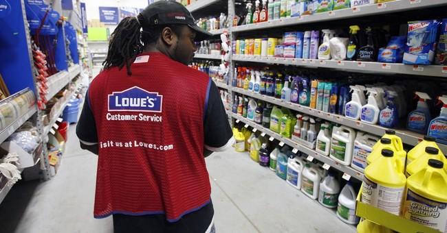 Lowe's 2Q profit rises as weather improves