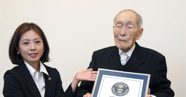 111-year-old from Japan recognized as oldest man