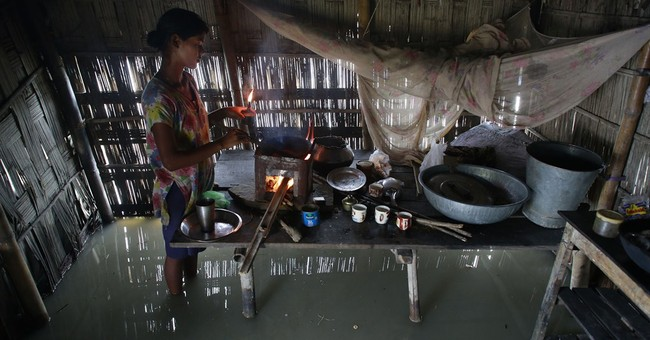 Image of Asia: Food and water during the monsoon