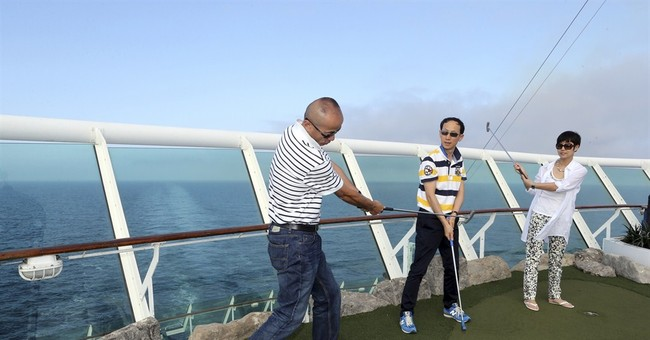 Global cruise lines set sail for China