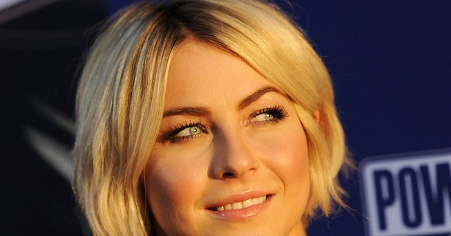 Julianne Hough dances back to 'Dancing' as judge