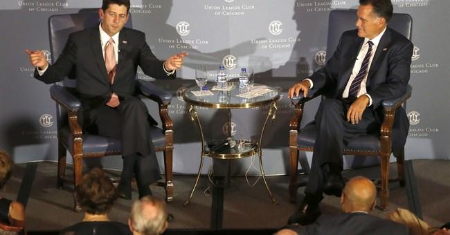 Ryan says he'd love to see Romney run again