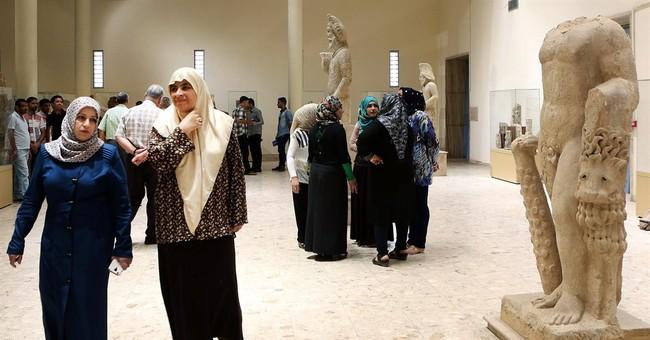 Iraq museum inaugurates 2 halls of statues