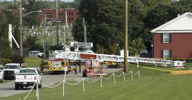 Ice bucket challenge goes awry, firefighters hurt