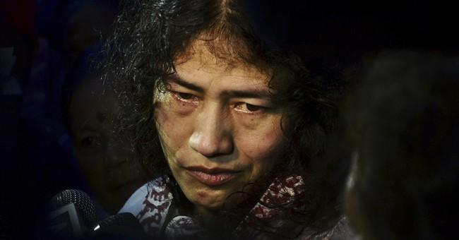 Freed activist won't stop 14-year hunger strike