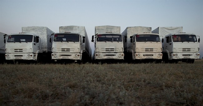 West condemns Russia over convoy to Ukraine