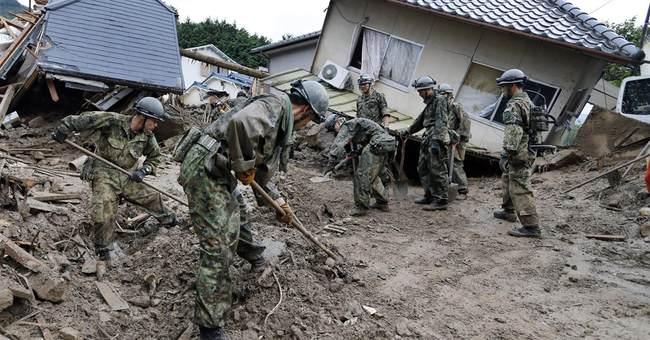 39 dead, dozens missing after Japan landslides