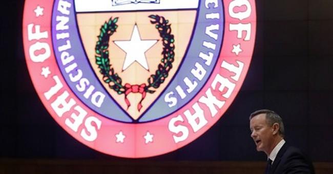 Navy Adm. McRaven confirmed as Texas chancellor