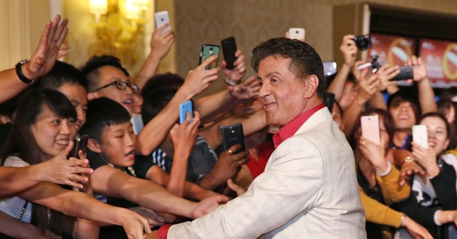 Stallone and stars promote 'Expendables' in Asia