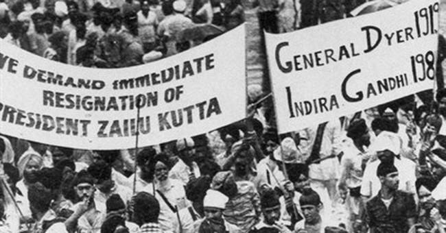 India blocks film on Indira Gandhi assassination