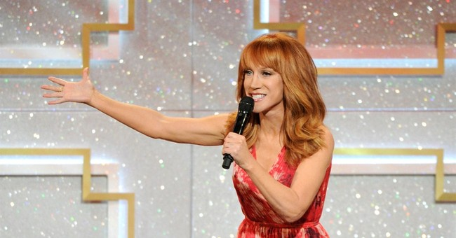 Kathy Griffin to Minaj: I want a booty challenge