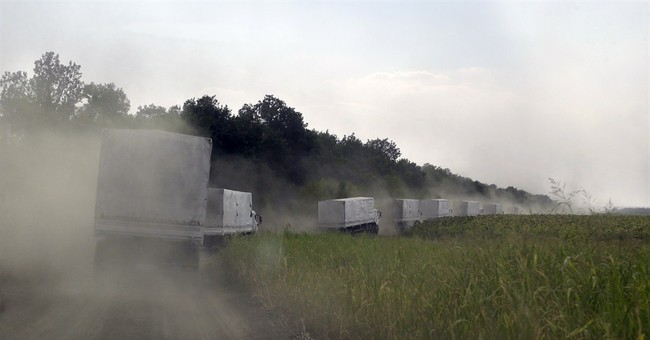 West condemns Russia over convoy to Ukraine