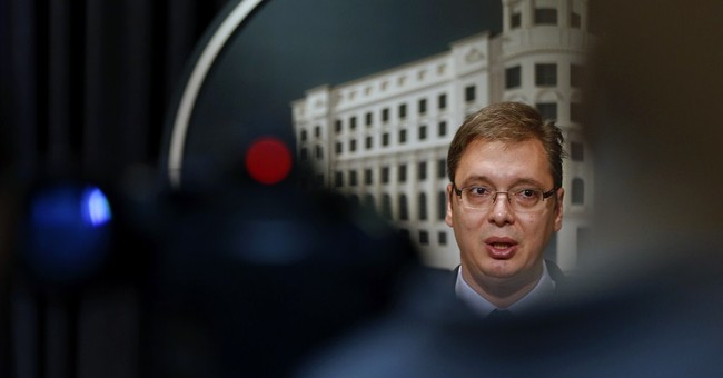 Serbia says it won't impose sanctions on Russia