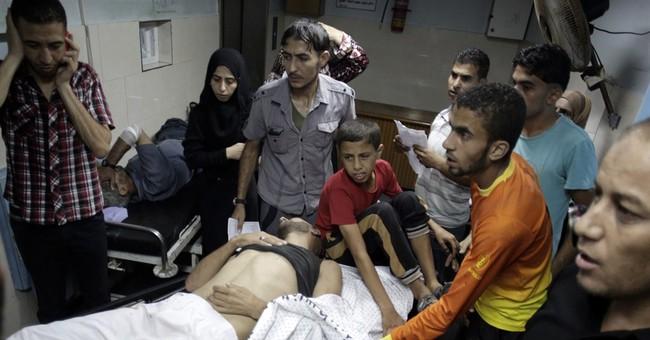 Israeli airstrike collapses Gaza apartment tower