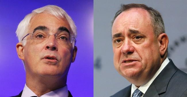 Leaders clash in final debate before Scotland vote