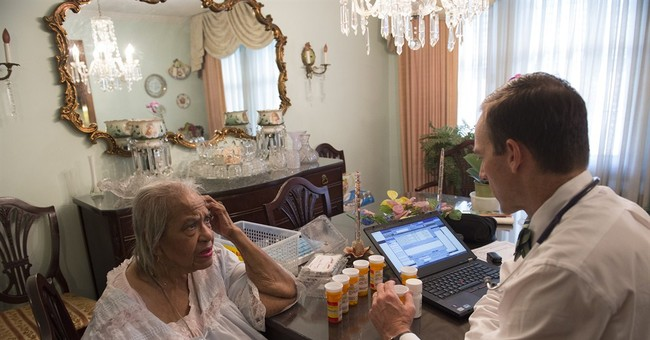 Study: House calls for frail elders bring savings