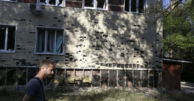 Rebels parade captured Ukrainian soldiers in east