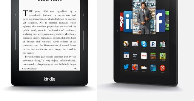Amazon debuts new e-readers, kid-friendly Fire