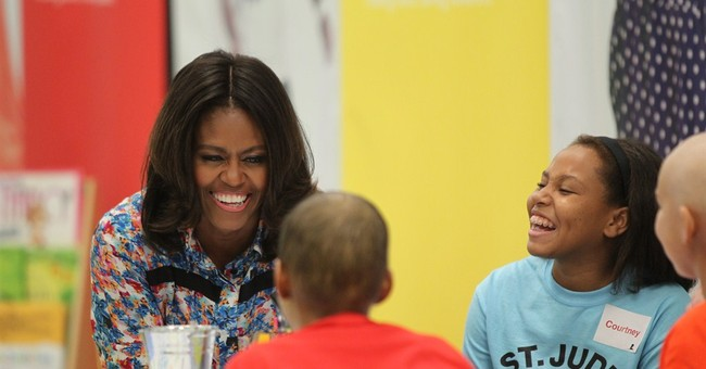 First lady visits St. Jude Hospital in Memphis