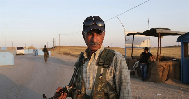 Militant gains illustrate plight of Syrian Kurds