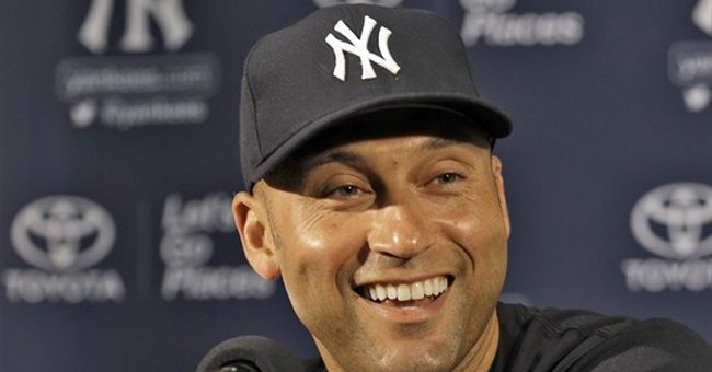Jeter going out his way, to sound of Sinatra