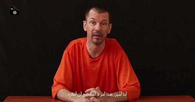 British hostage appears in new video