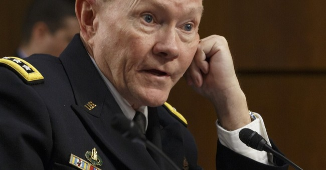 Dempsey lauds French airstrike against militants