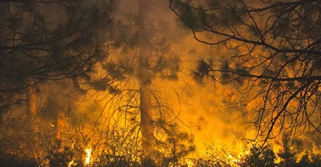 Record amount of retardant used on California fire
