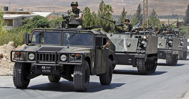 Bomb kills 2 Lebanese soldiers near Syria border