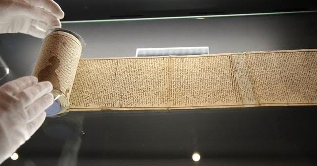 Original Marquis de Sade manuscript on display