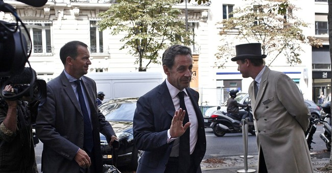 France's Sarkozy makes comeback TV appearance