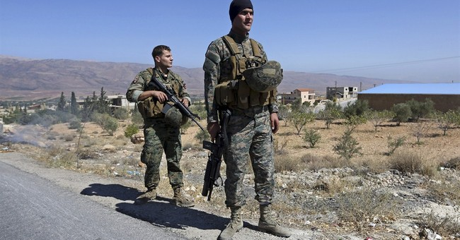 Bomb kills 2 Lebanese soldiers near Syria border