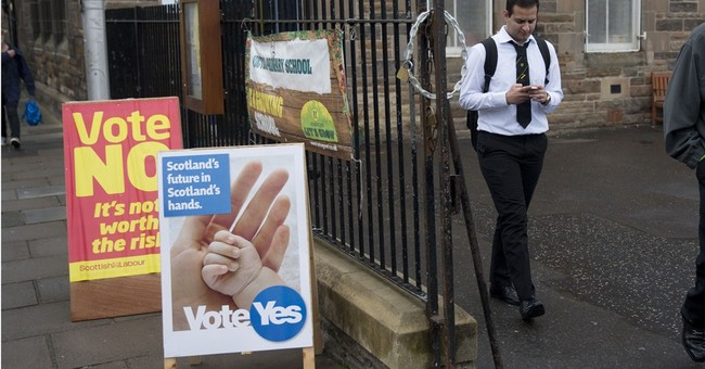 Scottish teens proud, passionate about voting