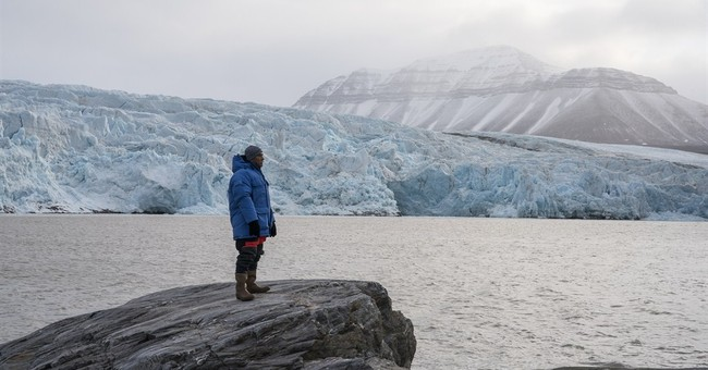 Kiribati leader visits Arctic on climate mission