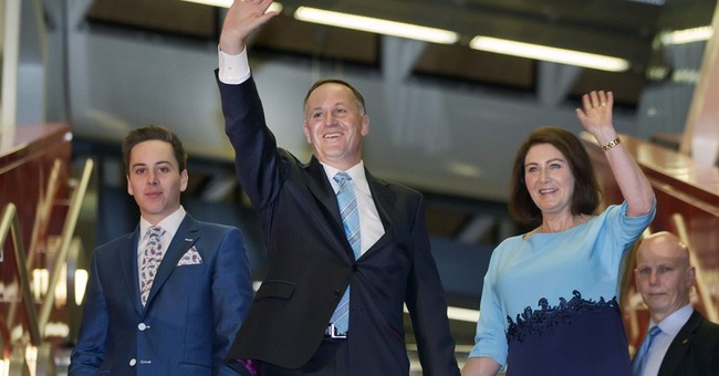 New Zealand prime minister wins 3rd term in office