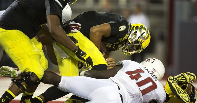 No. 2 Oregon learns from Pac-12 opener