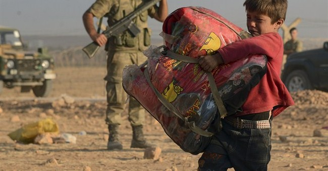 UN: 70,000 Syrians escape fighting to Turkey